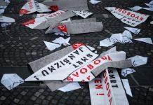 grožnje protesti