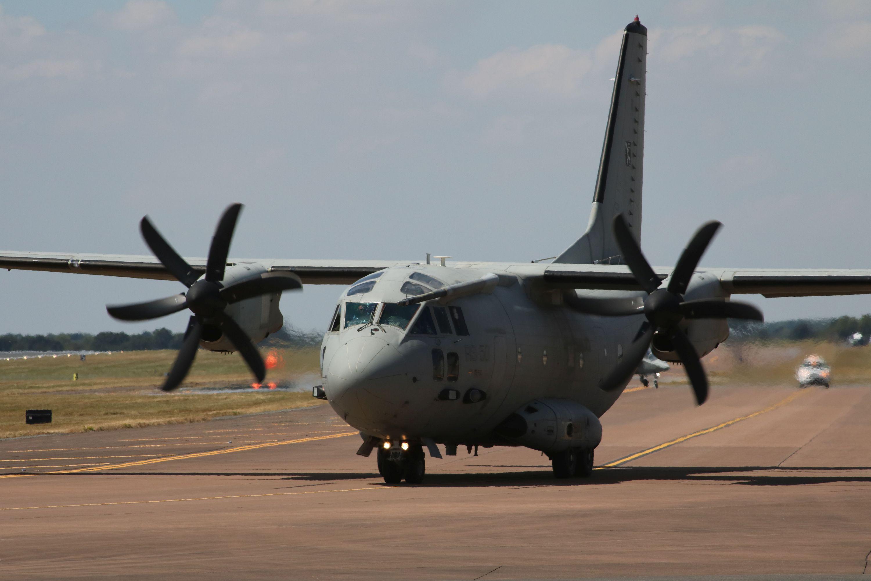 Transportno letalo C-27J Spartan | Avtor Borut Podgoršek, MORS