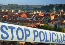 policija trak maribor