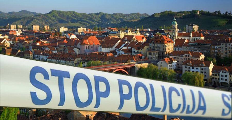 policija trak maribor POLICISTI