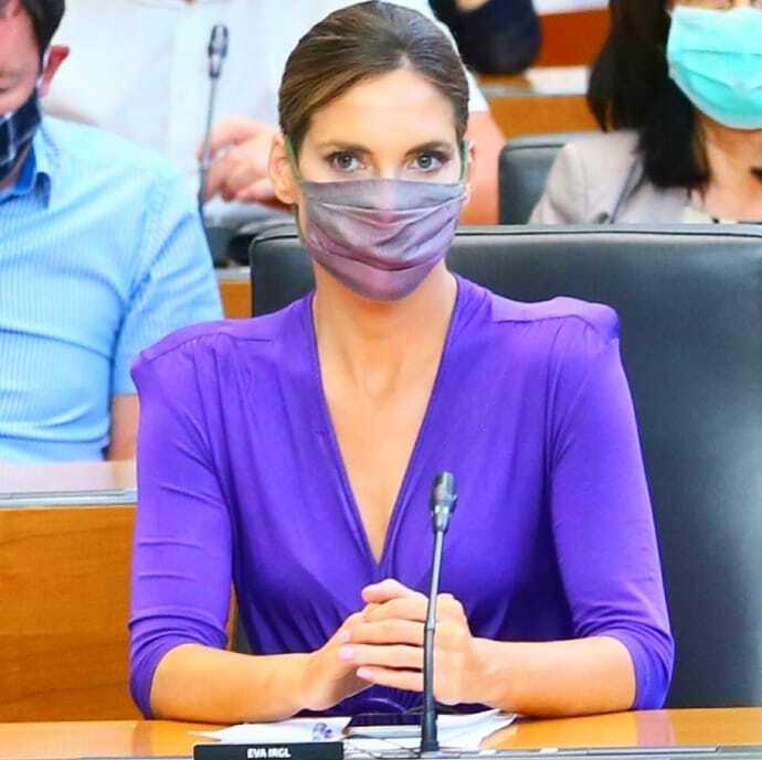 Eva Irgl, poslanka SDS