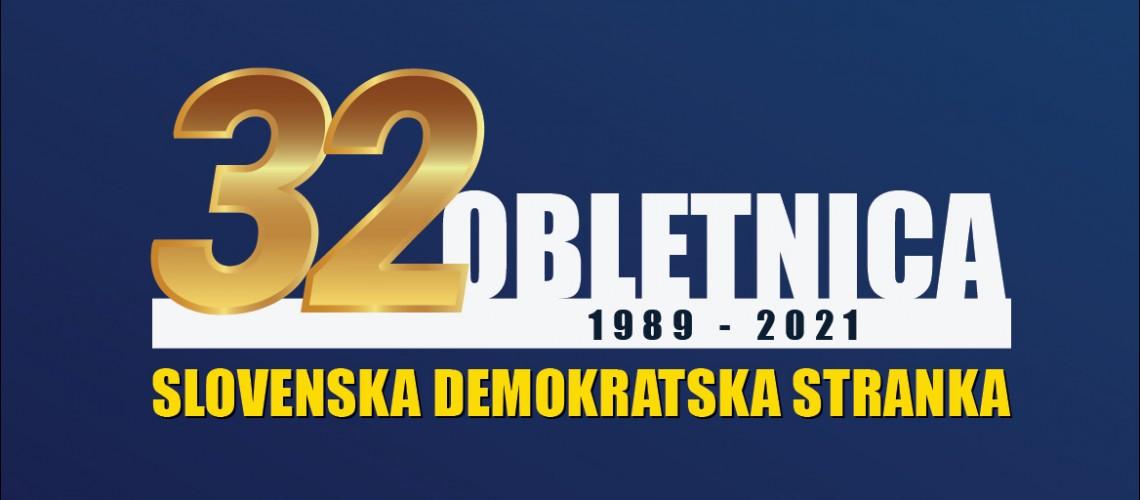 Janez Janša 32 obletnica SDS