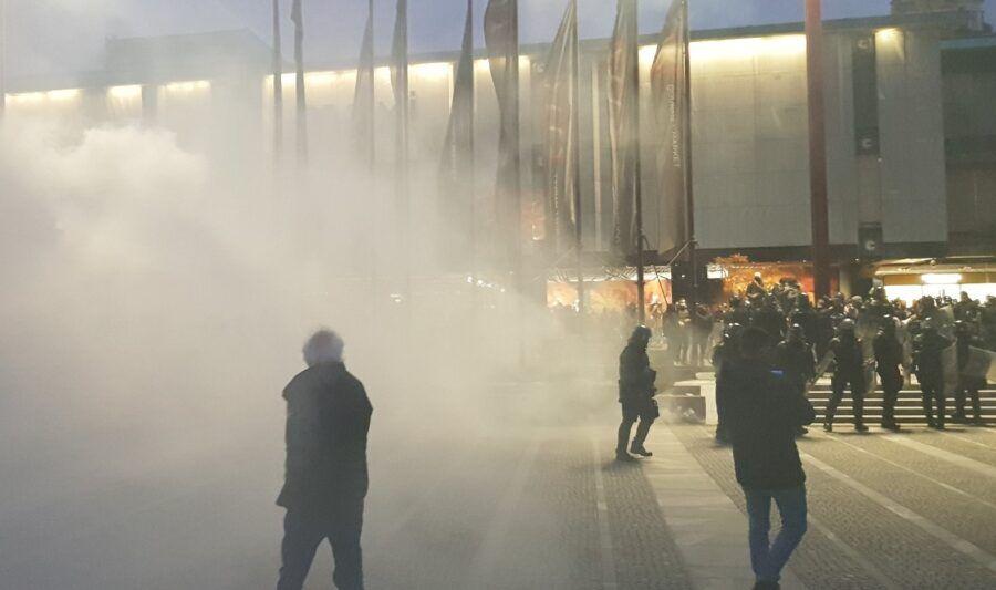 Nasilni protesti v Ljubljani novembra 2020. Za proteste odgovoren tudi mariborčan