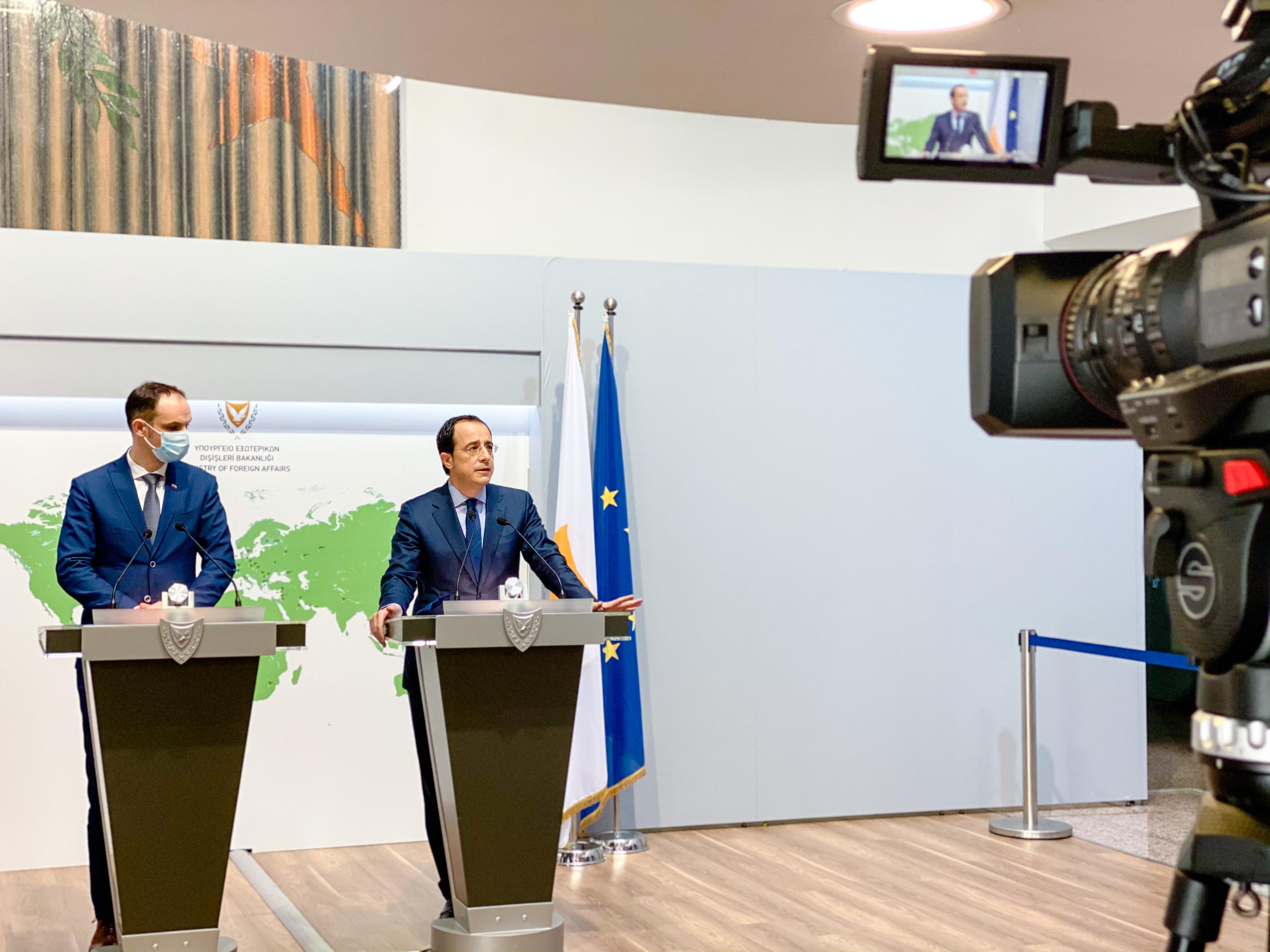 Minister dr. Logar na delovnem obisku na Cipru o sodelovanju v sredozemskem prostoru