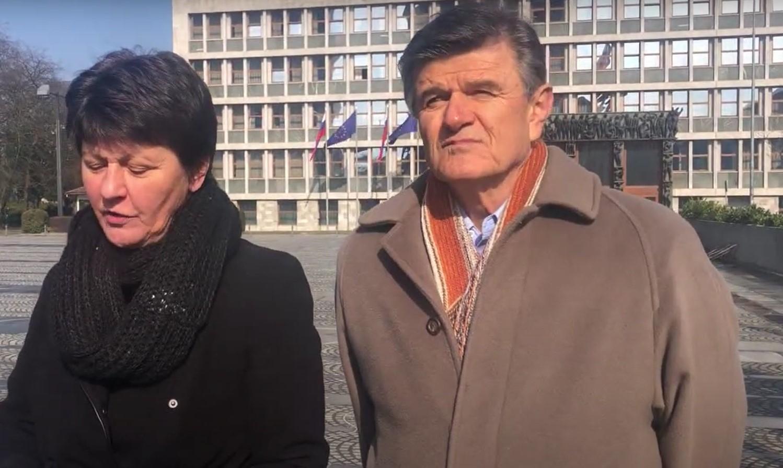 Anica Bidar in Blaž Kavčič