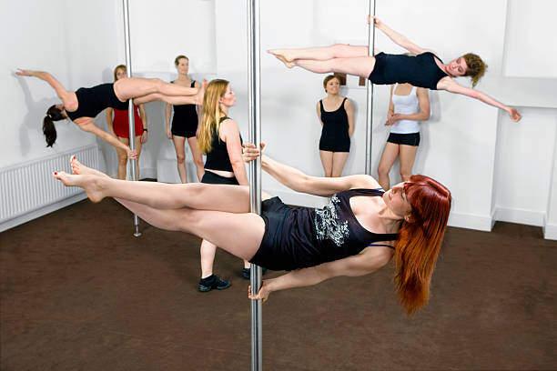 Vadba trening plesa na drogu