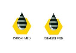 Enotna oznaka Istrskega medu /Istarskega medu | Avtor MKGP ( Istrski med / Istarski med ) hrvaška