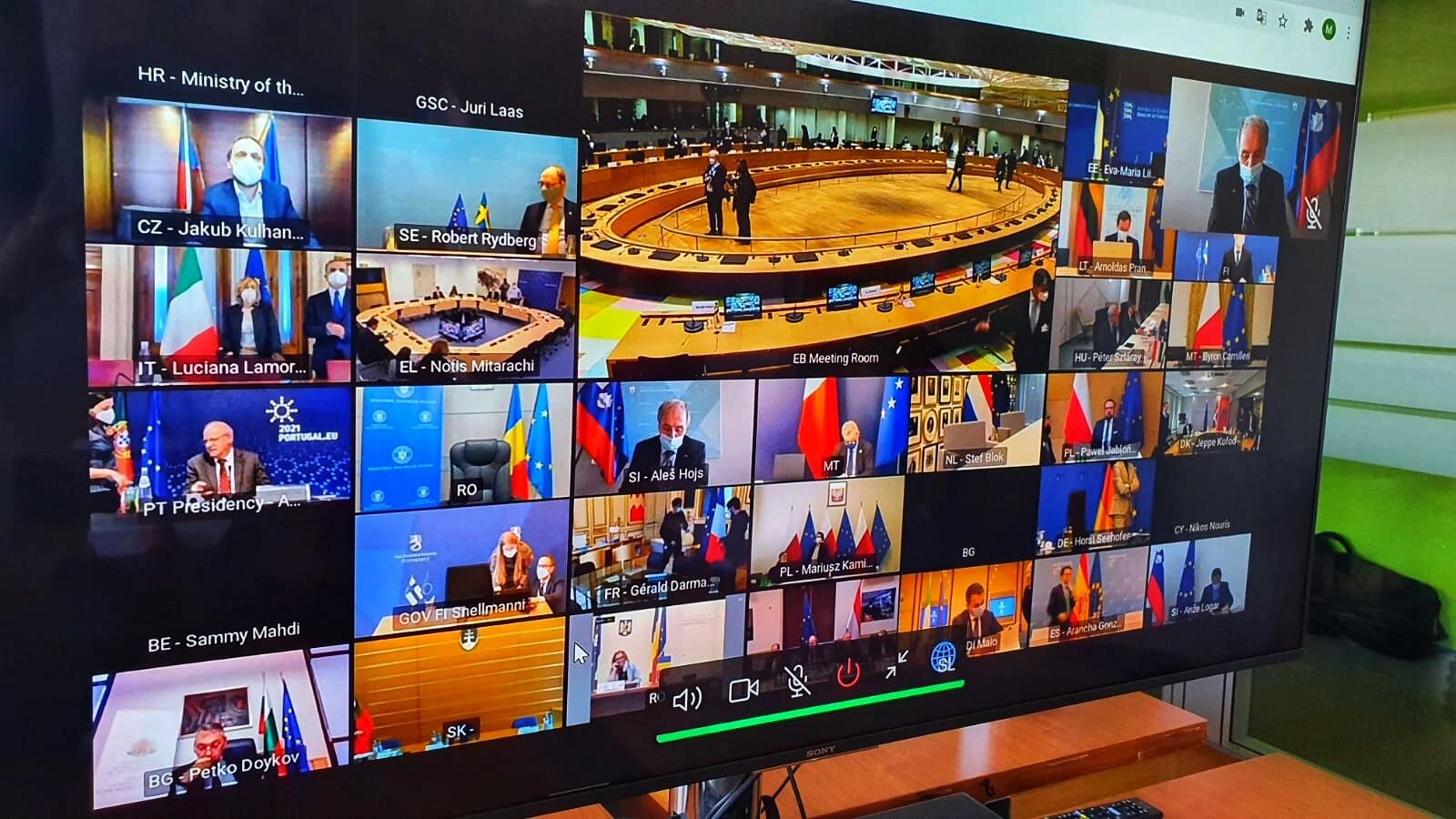Skupno zasedanje Sveta ministrov za zunanje zadeve in Sveta ministrov za pravosodje in notranje zadeve | Avtor Ministrstvo za notranje zadeve