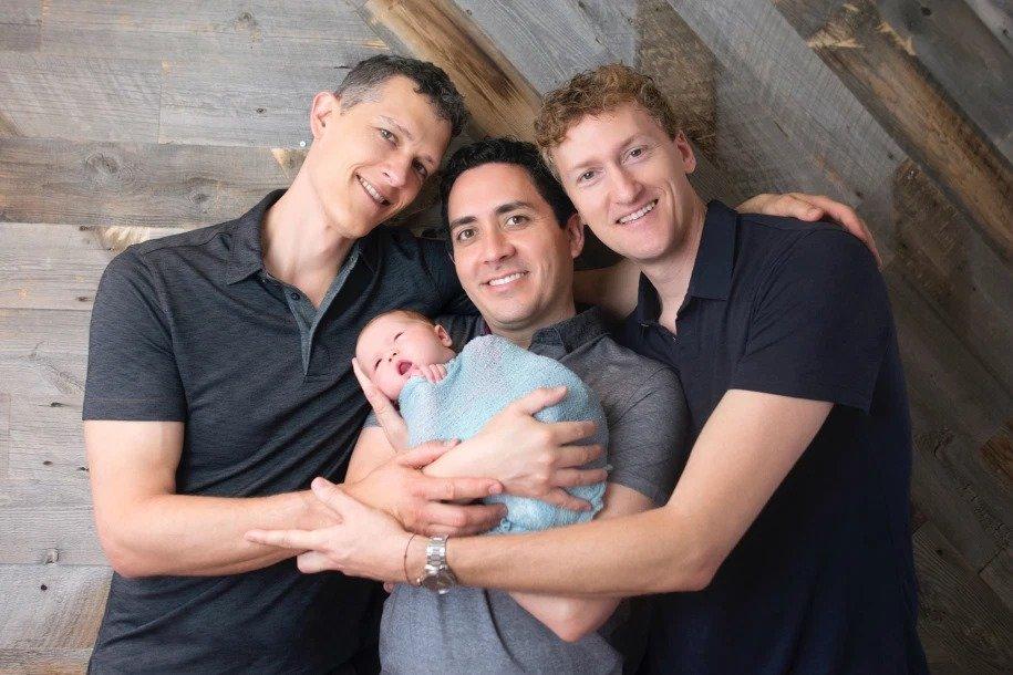 trije očetje