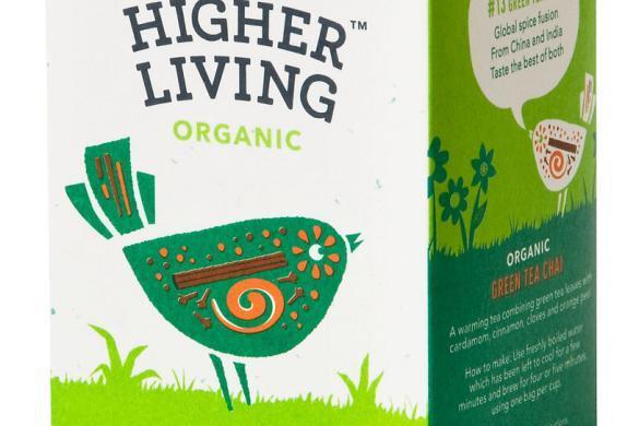 Odpoklic zelenega čaja ekološke pridelave