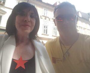 Svetlana Makarović in Peter Srpčič